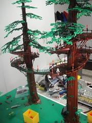Ewok trees (brickplumber) Tags: starwars lego legostarwars endor afol fbtb episodevi
