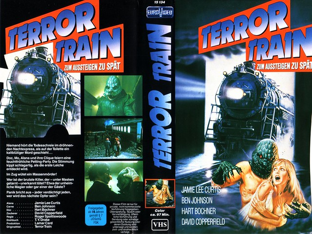 Terror Train (VHS Box Art)