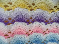 Emily's Shell Ripple Blanket (Maryfairy2) Tags: ripple crochet shell blanket