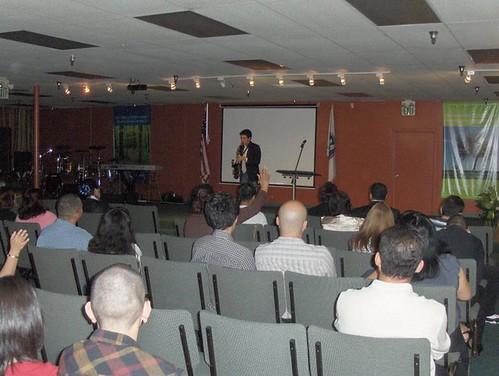 Iglesia Amistad Cristiana - Rancho Cucamonga, C.A. (Javier & lo que pasa)