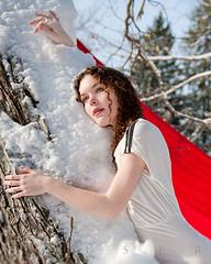 (Savannah Daras) Tags: lighting winter red snow long natural bright maine andrew fabric houser savannah contract daras