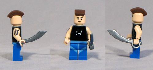 Custom minifig The Skeptic custom lego minifig