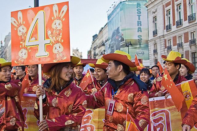 Chinese New Year in Spain