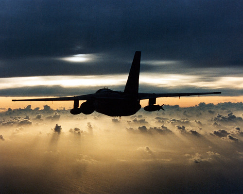 [フリー画像] 乗り物, 航空機, 軍用機(その他), S-3 ヴァイキング, 201102152300