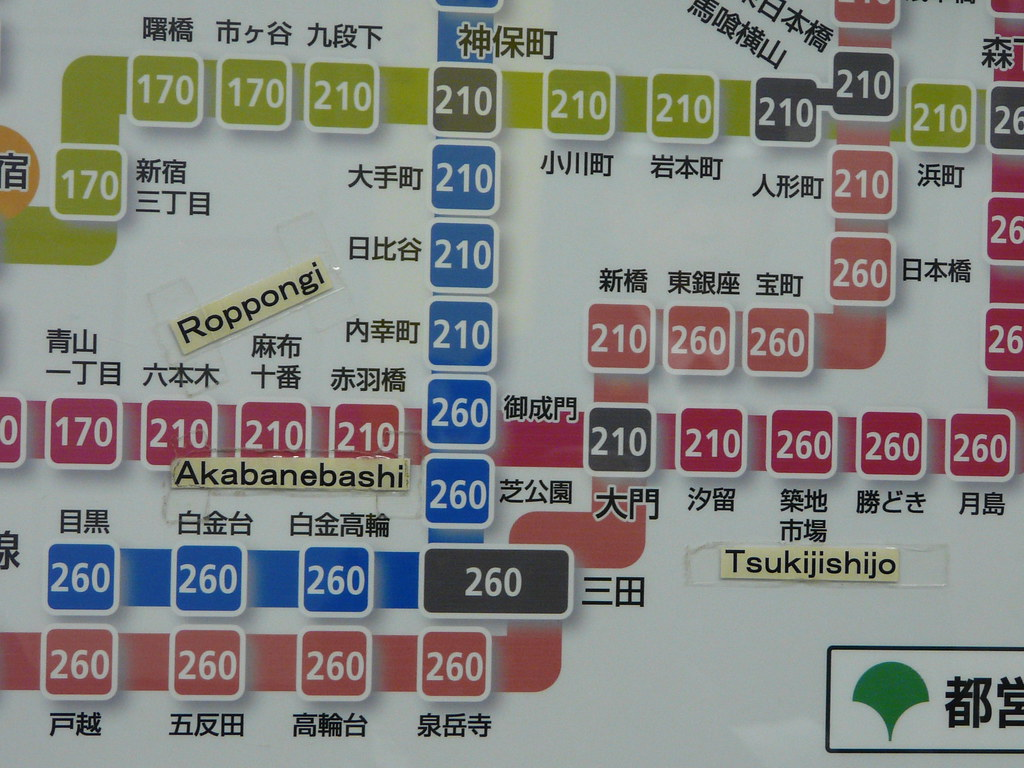 Bilingual Station Signage