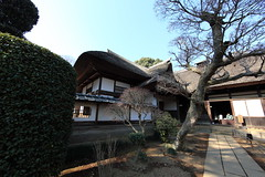 Japanese traditional style farm house / () (TANAKA Juuyoh ()) Tags: house home architecture japanese design high ancient exterior folk farm traditional style hires resolution 5d hi thatchedroof residence res   thatched ibaraki markii  joso      5photosaday        sakano  canonef14mmf28liiusm