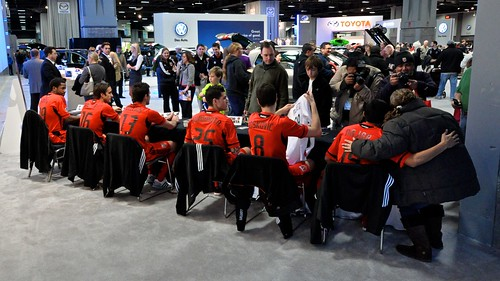 DC United at the DC Auto Show