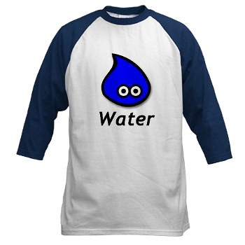 Men's Baseball Jersey - Water