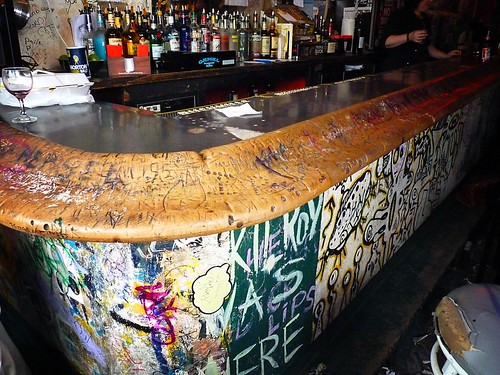 Mars Bar Interior, East Village, New York City 60