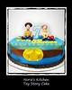 Norie's Kitchen - Toy Story Cake (Norie's Kitchen) Tags: norieskitchen customcakes philippines birthday cake toystory woody jessie sheriff gumpaste fondant