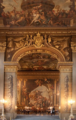 Painted Hall-Greenwich, The Upper Hall (Nigel Jones LRPS) Tags: london painting golden mural arty bright greenwich navy nelson funeral admiral flashy paintedhall