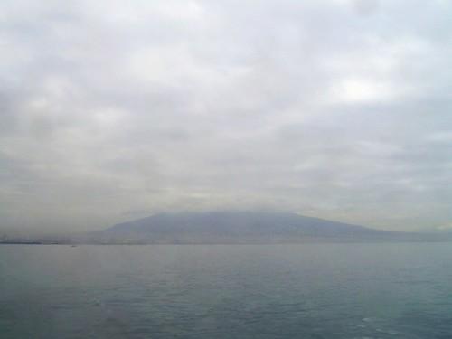 Vesuvio from the water