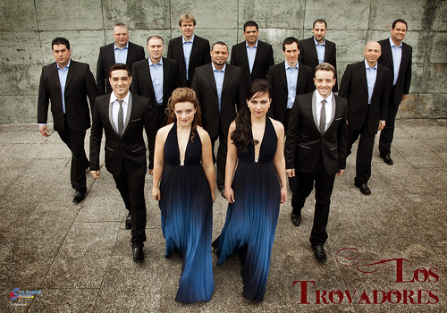Los Trovadores 2010 - orquesta - cartel