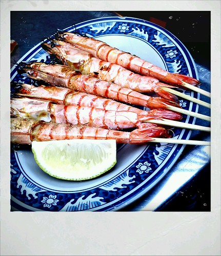 奶油螃蟹@烤蝦