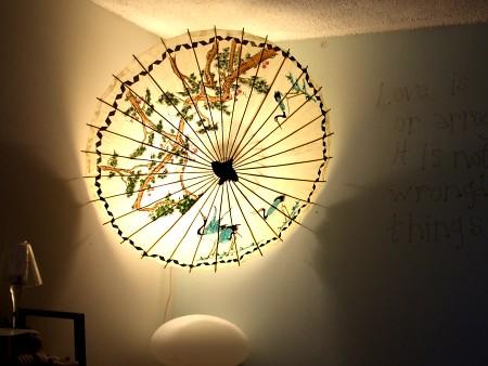 """Chinese parasol """"lamp"""""""