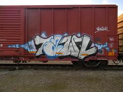 Tawl (KickPushPaint aka Sk8Hamburger) Tags: train graffiti tag boxcar tagging freight lords kres knistt gtl rebuker tawl kreser knistto kreseroner