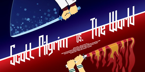 Scott Pilgrim vs. The World - Mock Poster - Updated/Vector Version