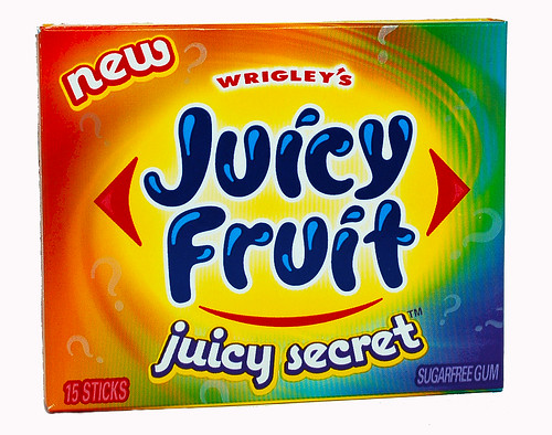 Juicy Fruit - juicy secret