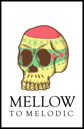 Mellow to Melodic logo (tittle:head for glory)