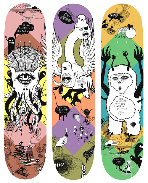 Longwood Skateboards Beast series