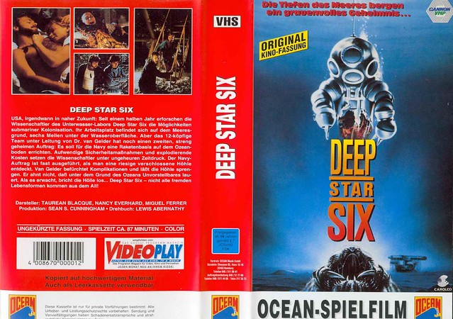 Deep Star Six (VHS Box Art)