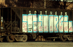 TYPE 01 (rhem rhem) Tags: train graffiti type augusta tagging