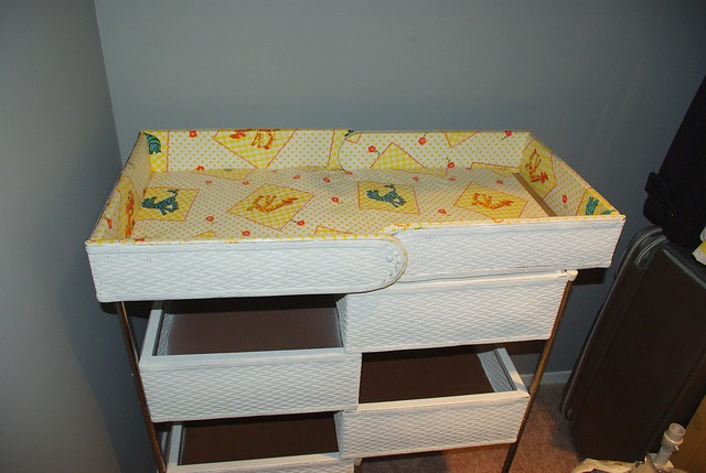 My Changing Table from 1981