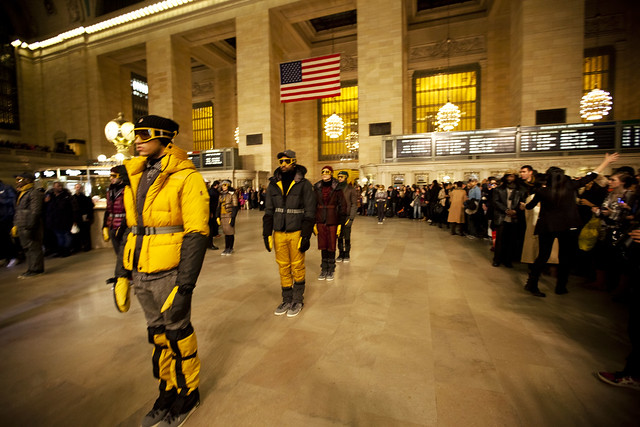 Moncler @ Grand Central Station, New York Fashion Week 2011