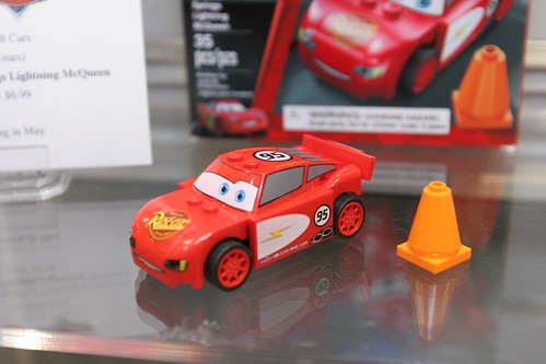 LEGO Toy Fair 2011 - Cars - 8200 Radiator Springs Lightning McQueen - 2