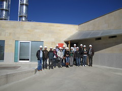 Sweethanol delegation at Abengoa plant (Spain)