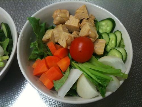 朝食サラダ(2011/2/15)