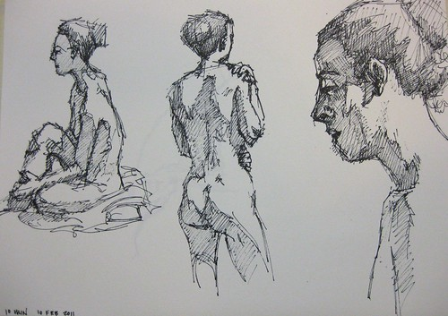 Anatomy Life Drawing Artists Drawing Together