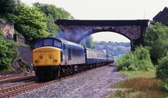 Get Busy With The Fizzy (Feversham Media) Tags: peaks westyorkshire colnevalley britishrailways milnsbridge kirklees class45 sulzertype4