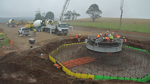 Concrete pour 2: turbine 1