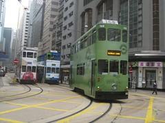 tram 168-go ahead! (Joseph Tse) Tags: hongkong millennium streetcar trams trolleycar tramcar sheungwan westernmarket  hongkongtramwayslimited tram168  168