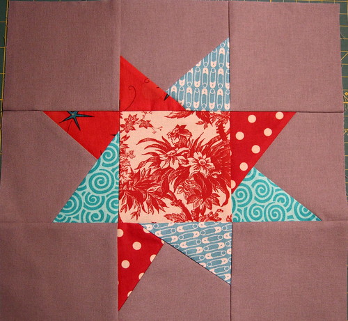 wonky star for oneygirl sew & bee happy