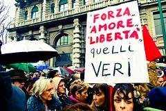 se non ora, quando? (v.ince) Tags: street women milano donne manifestazione dignit 13aprile2011