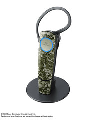 "PS3 Bluetooth Headset in ""Urban Camouflage"""