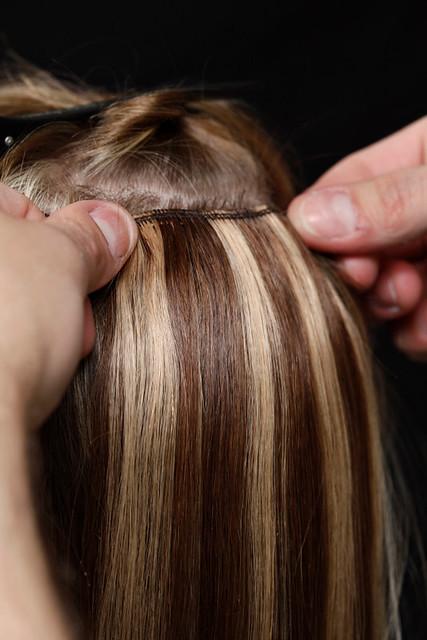 как крепить волосы на заколках инструкция