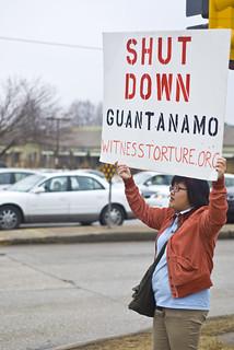 Anti-Torture Vigil - Week 37