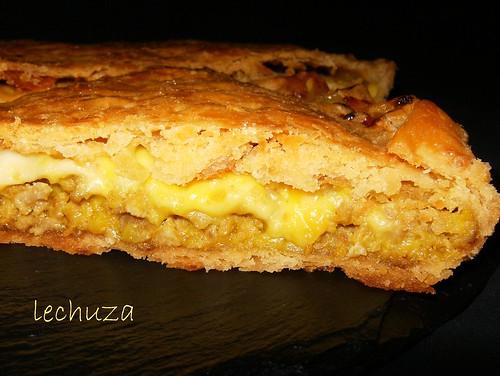 Empanada carne y queso-cerca