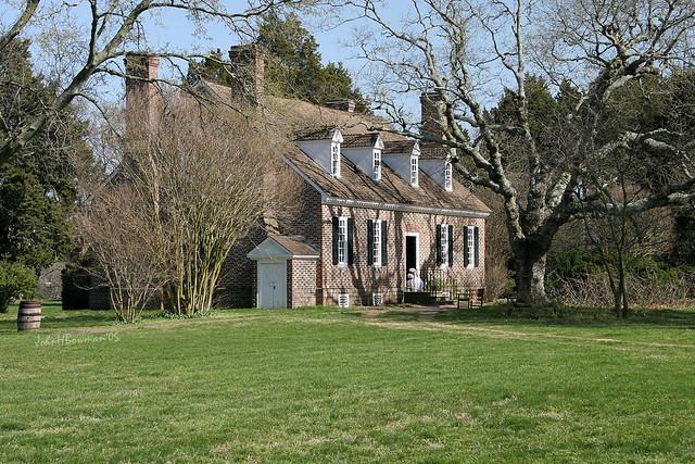 George Washington Birthplace Memorial House by John H Bowman
