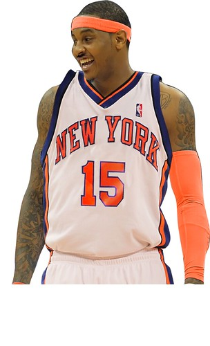 carmelo anthony joins the knicks