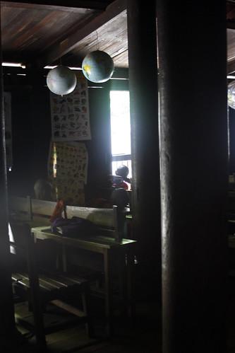 Monasterio escuela en Inwa