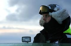 RIB skipper (Svinya Rorbuer) Tags: ski vinter rib svinya trollfjorden