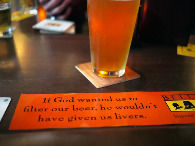 Lackman Bell's beer tasting
