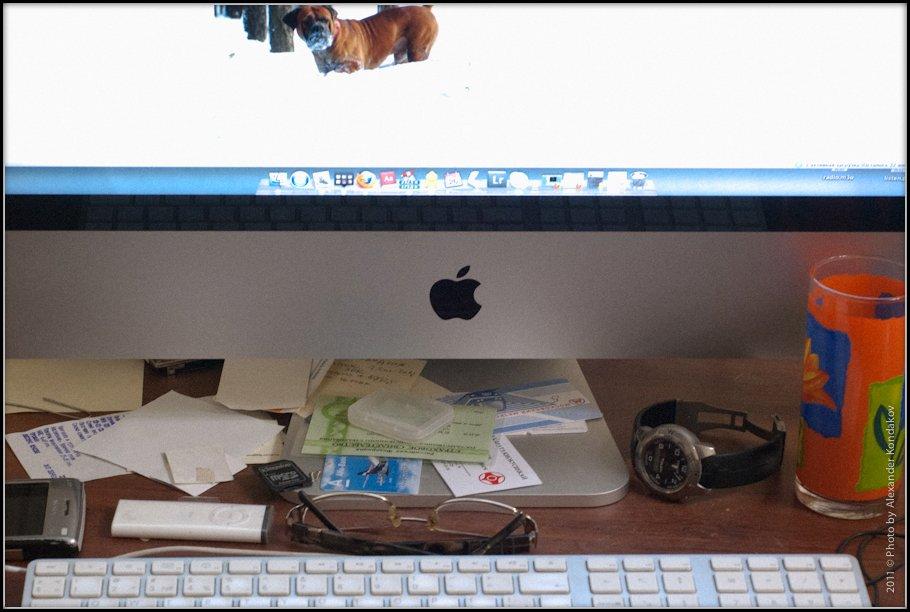 My desktop for today 2011 © Photo by Alexander Kondakov