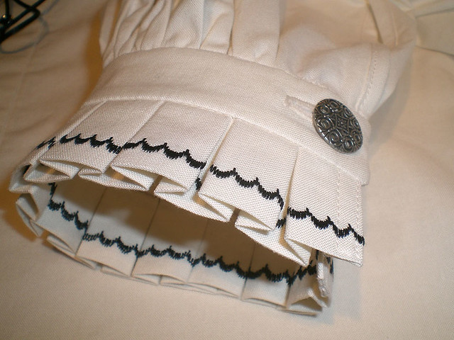 Box Pleated Cuff