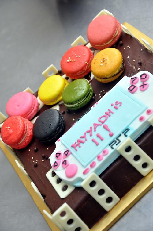PSP Biirthday cake1