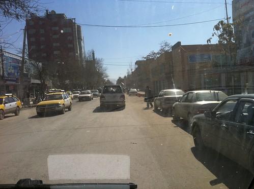 Strassen von Kabul